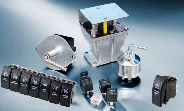 Коммутационная аппаратура в автомобиле: выключатели, переключатели, реле, электромагниты