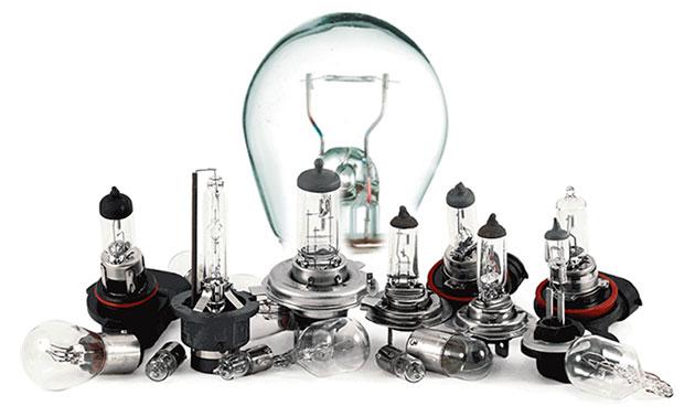 Автомобильные электрические лампы накаливания
