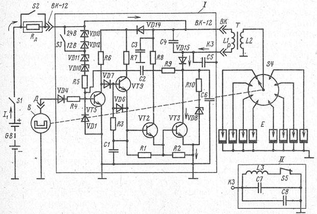 Искра- схема бесконтактной системы зажигания автомобиля и подробное описание принципа работы на Времонт.su