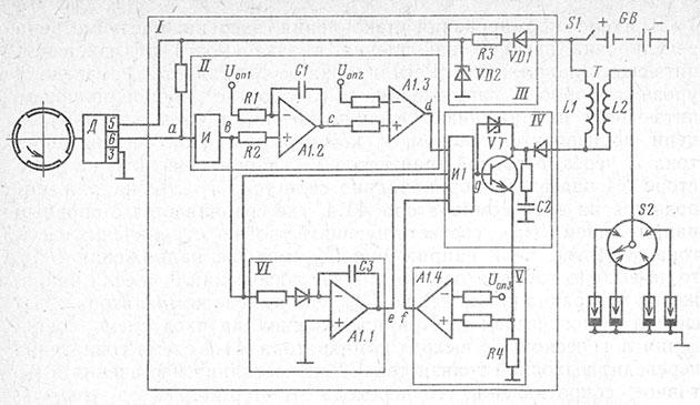 Функциональная схема бесконтактной системы зажигания автомобиля ВАЗ-2108 и подробное описание ее работы на Времонт.su