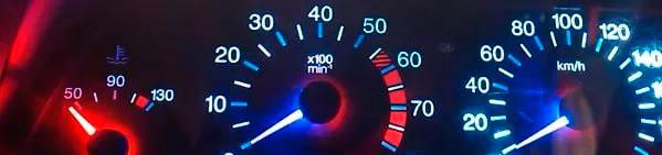 Устройство и принцип работы автомобильных спидометров и тахометров