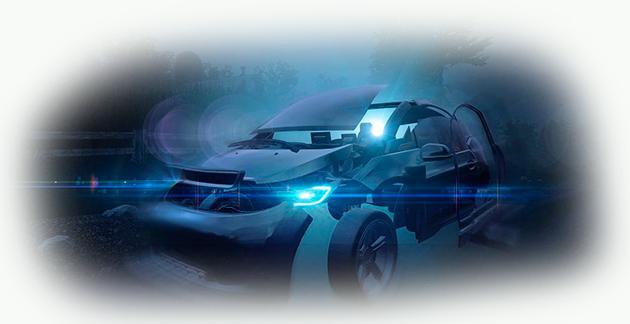 Устройство системы освещения автомобиля