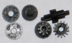 Набор шестерней привода зум для объективов Canon PowerShot A1000, A1100