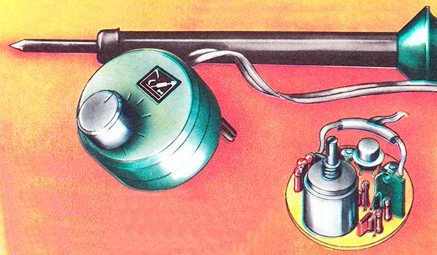 тиристорный регулятор мощности для паяльника