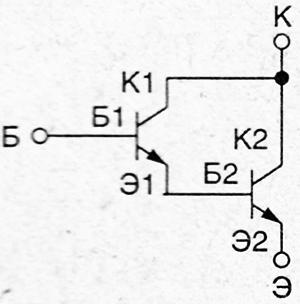 Проверка составных транзисторов