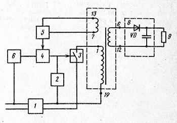 функциональная схема - блок питания 3усцт схема пояснение