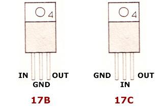 цоколевка стабилизаторов напряжения ANxxx серии