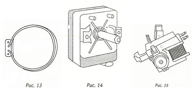 Турбонагревательный элемент, электрический термостат, турбодвигатель для электроплит