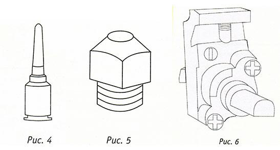 Термоэлемент горелки, инжектор, форсунка, газовый кран газовой плиты