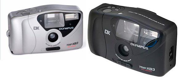 пленочные фотоаппараты Olympus Trip XB3, устройство и принцип работы