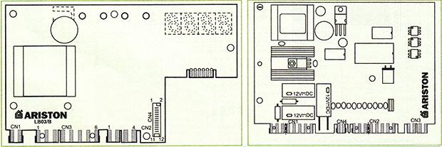Электронные платы стиральной машины Ariston dialogic