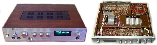 Усилитель звуковой частоты первого класса Советского производства Радиотехника У-101-стерео