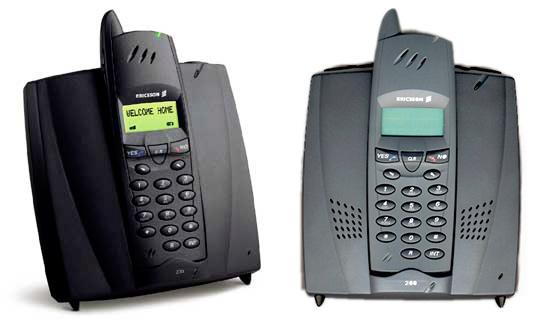 Ремонт радиотелефонов Ericsson 230, 260 прошивки трубки и базы