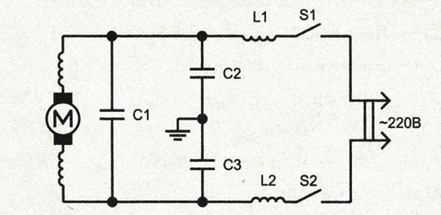 схема кофемолки ЭКМЖ-125