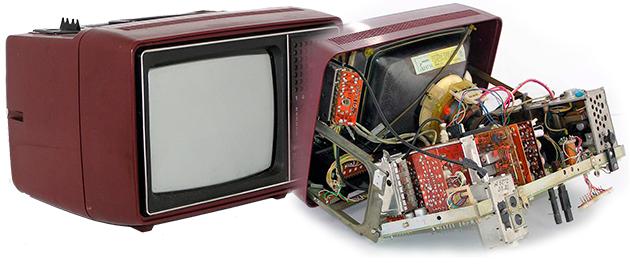 Советские телевизоры Электроника Ц430 устройство и ремонт