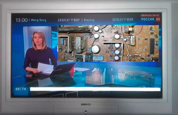 Схемы блока питания телевизора Beko на микросхеме TDA4605