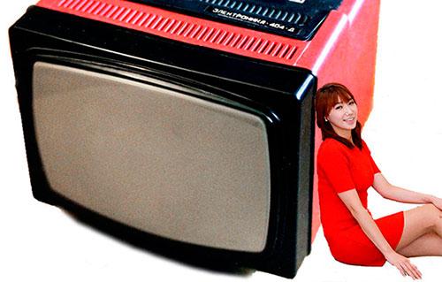 Советские телевизоры Электроника 404Д