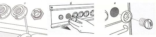 Замена ручек панели управления для всех типов плит электрических и газовых плит