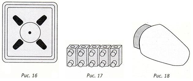 Циркуляторный тепловентилятор, клеммная колодка, лампа духовки для электроплит