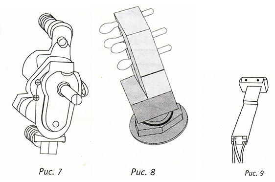 Газовый термостат, выключатель осветительной лампы, тепловентилятора, автоматический запальник для газовых плит