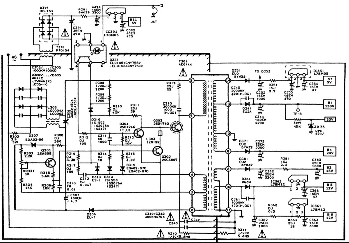 Схемы блоков питания на транзисторе 2sd1710
