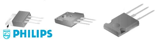 Транзисторы Philips для выходных каскадов строчной развертки телевизоров и мониторов