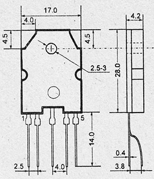Микросхема str-54041