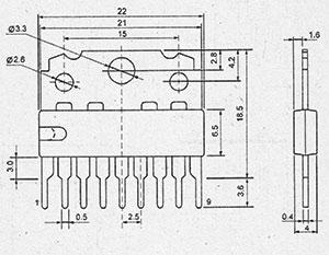 Микросхема TEA1039