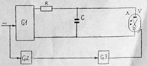 схема электрическая функциональная ИФК-120