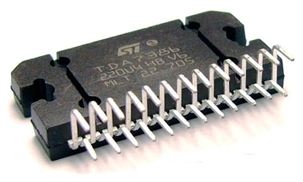 Внешний вид микросхемы TDA7386
