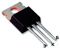 Внешний вид и цоколевка транзистора кт837г